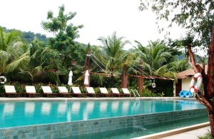 the pool, pet-friendly hotel, thailand, centara chantalay
