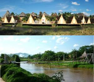 Painaifun, a nice place by the river and located right in Pai city center.